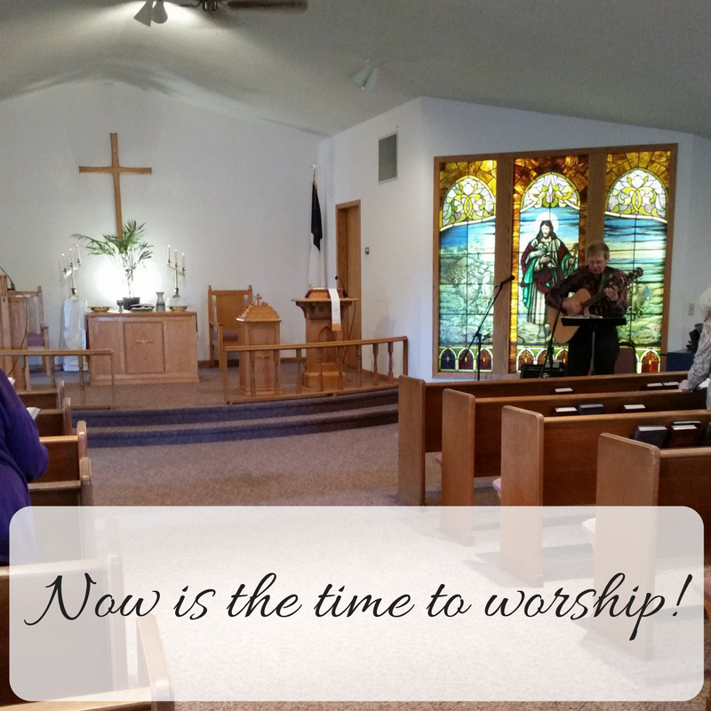 Worship with us! - Driftless Regional Ministry - Bulletins