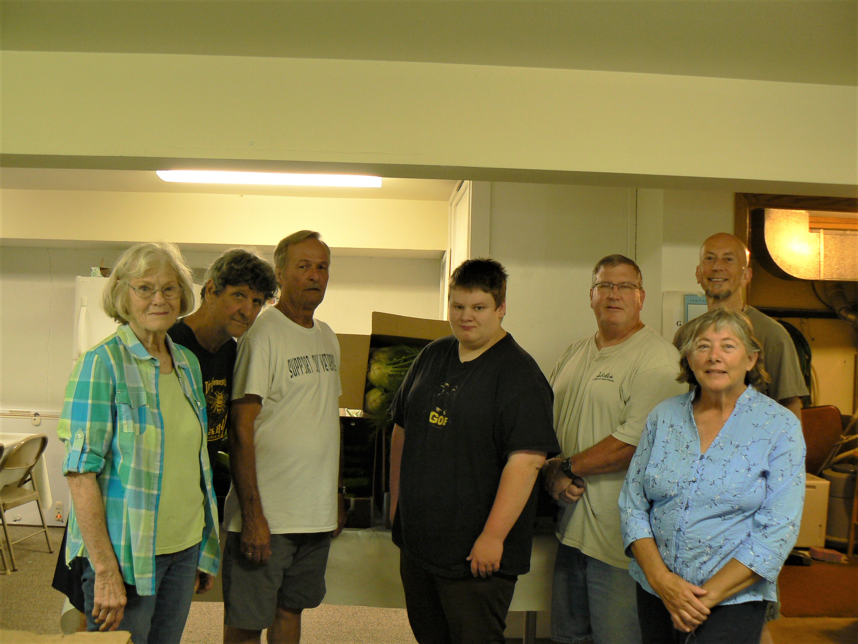 Volunteers are welcome at the New Hope Food Pantry!