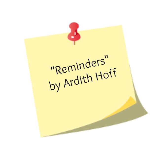 Learn & Grow - Reminders by Ardith Hoff