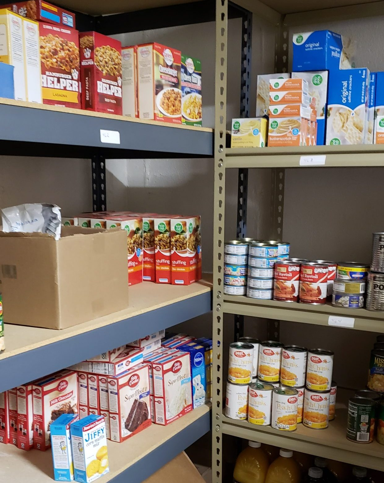 Help us stock our shelves!  Donate today!